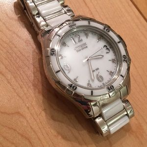 Citizen Eco-Drive, Ceramic Ladies Watch
